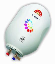 Ovastar 15 Ltr Ltr Electric Water Heater Oweg-3957 Storage Geysers White
