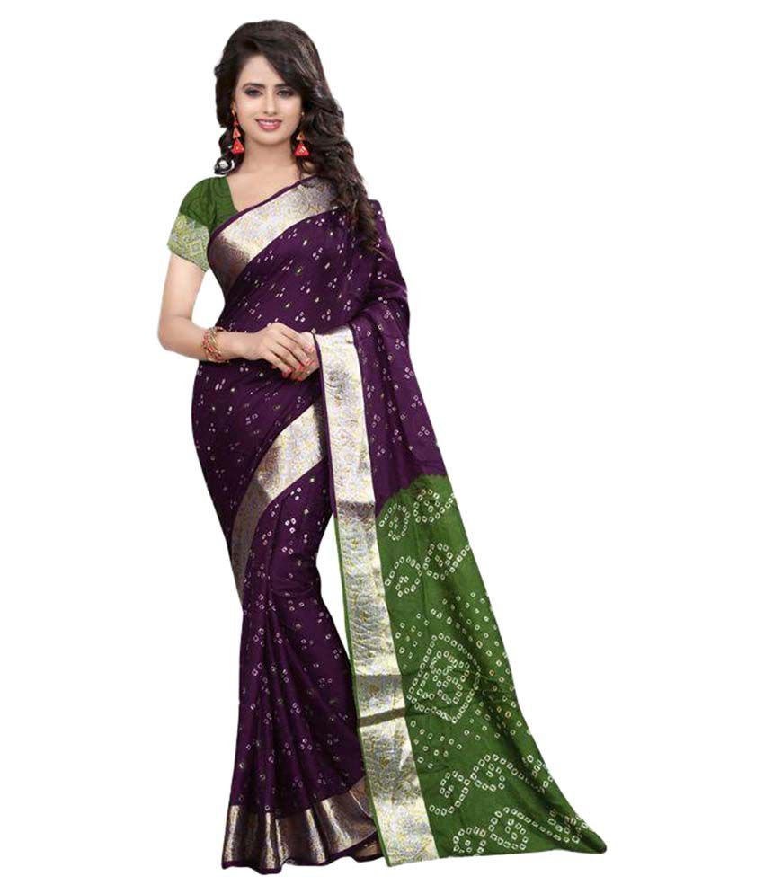 Fashion Hike Multicoloured Cotton Saree