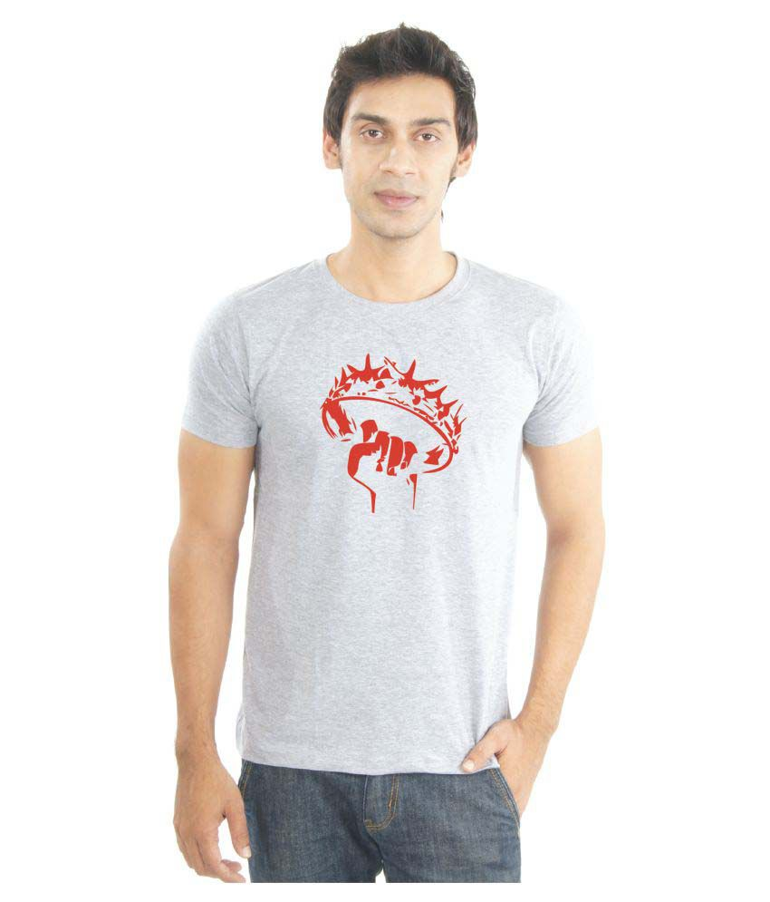 La Game of Thrones Grey Round T-Shirt