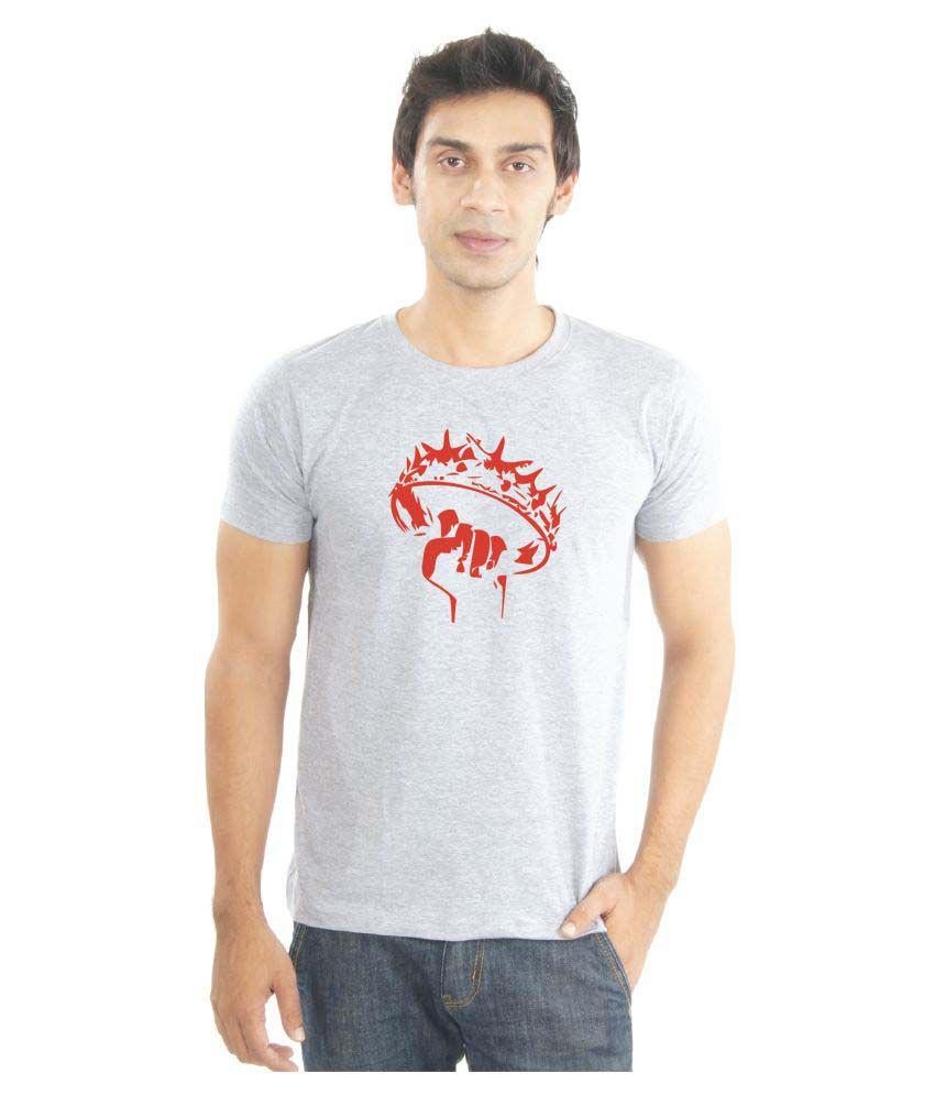 La Game of Thrones Grey Round T-Shirt