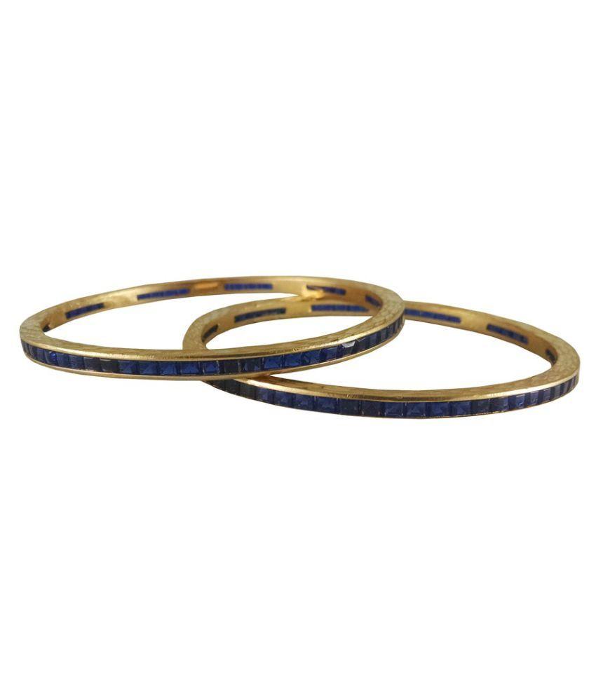 Rejewel Gold Bangles