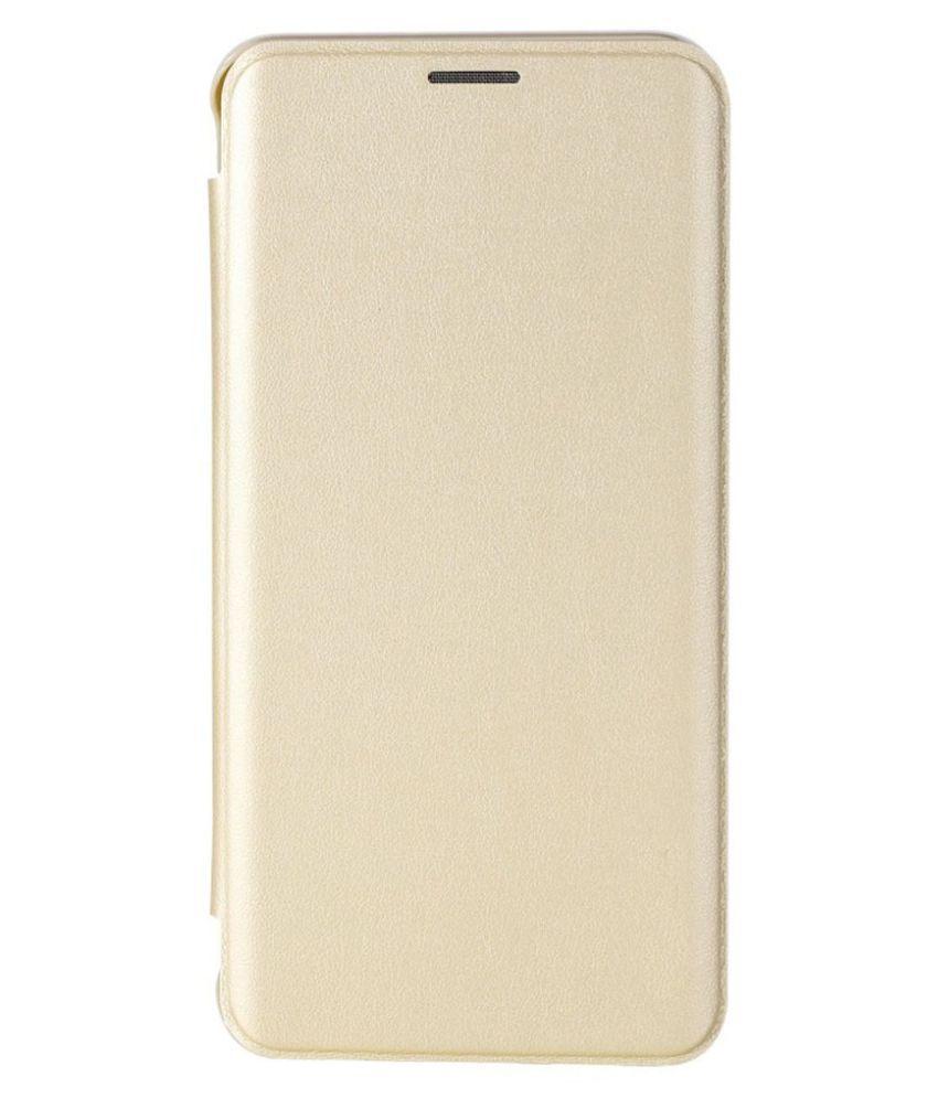 LYF Water 6 Flip Cover by JKR - Golden