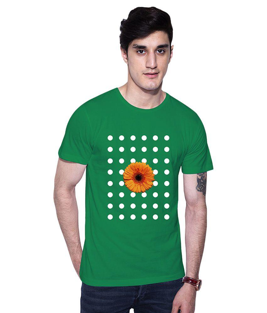 Uptown18 Green Round T-Shirt