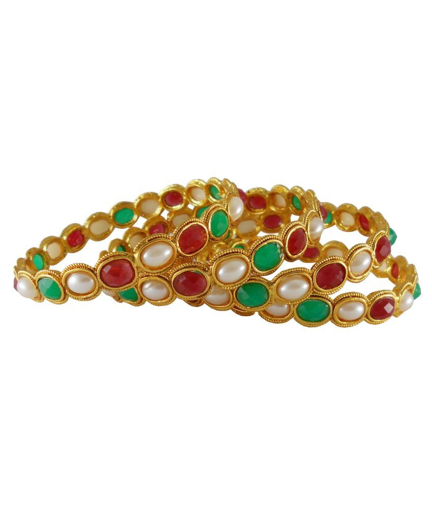 Rejewel Multicolour Bangle Set