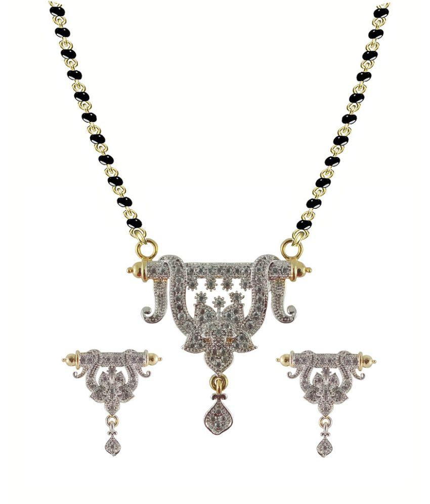 Rejewel Multicolour Mangalsutra Set
