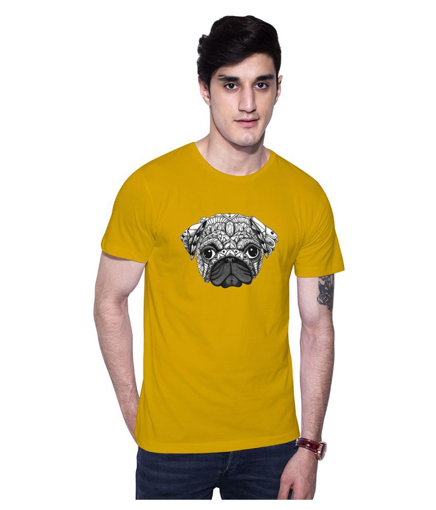 Uptown 18 Yellow Round T-Shirt