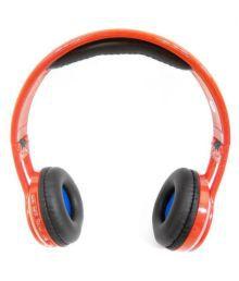 Gadget Hero's TM002 Over Ear Wireless Headphones With Mic Red