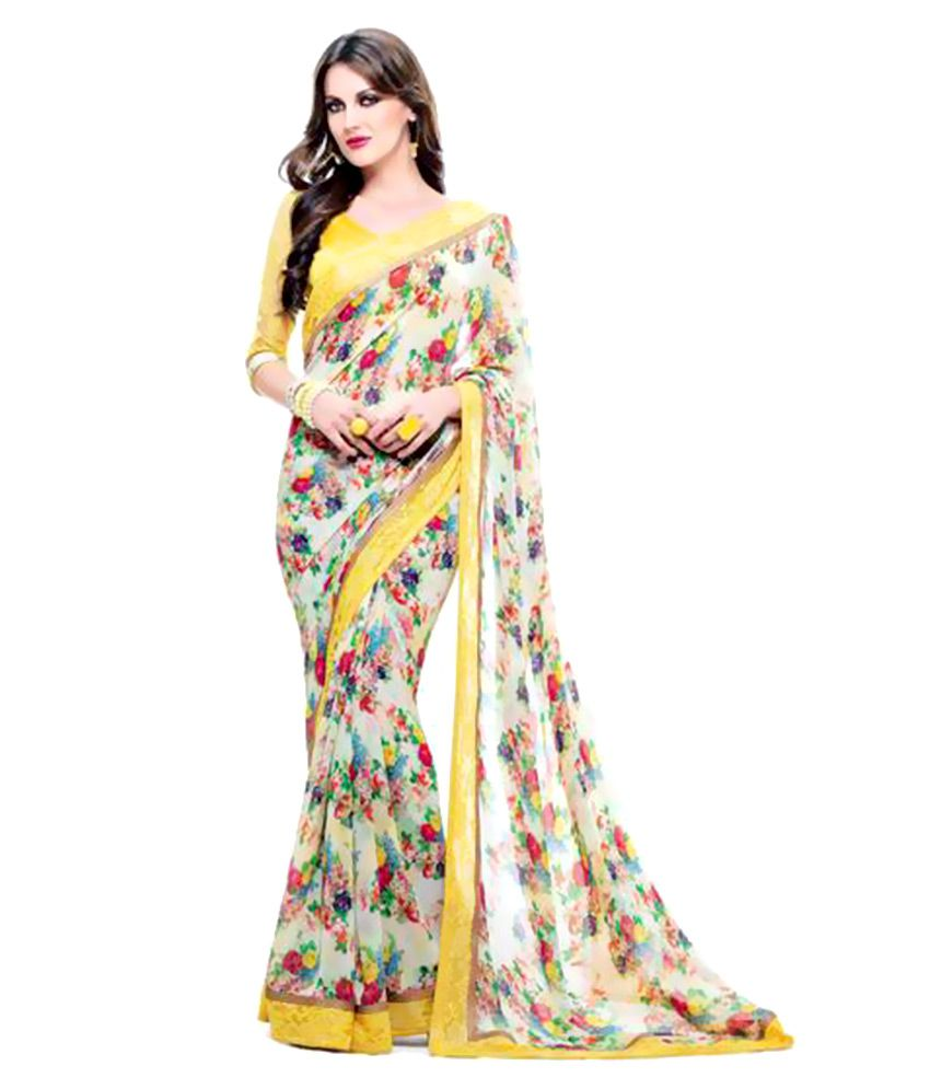 Rajshri Fashions Multicoloured Cotton Saree