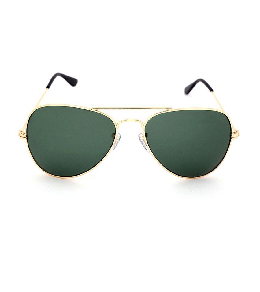 golden frame aviator sunglasses  Elligator Golden Frame Aviator Sunglass - Buy Elligator Golden ...