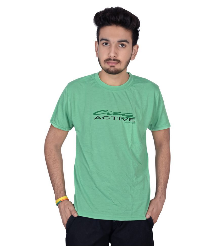 Decot Paradise Green Round T-Shirt