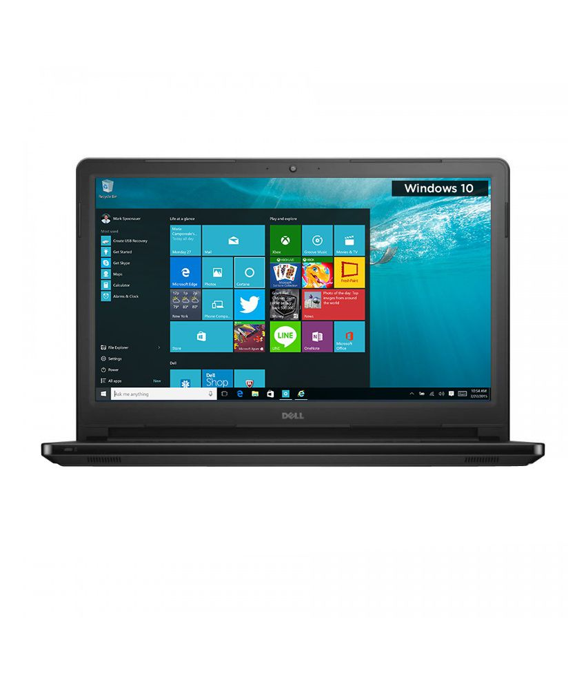 4a6446bb9 Dell Inspiron 5559 Notebook (6th Gen Intel Core i3- 4GB RAM- 1TB HDD-  39.62cm(15.6)- Win 10 with MS Office) (Black) - Buy Dell Inspiron 5559  Notebook (6th ...