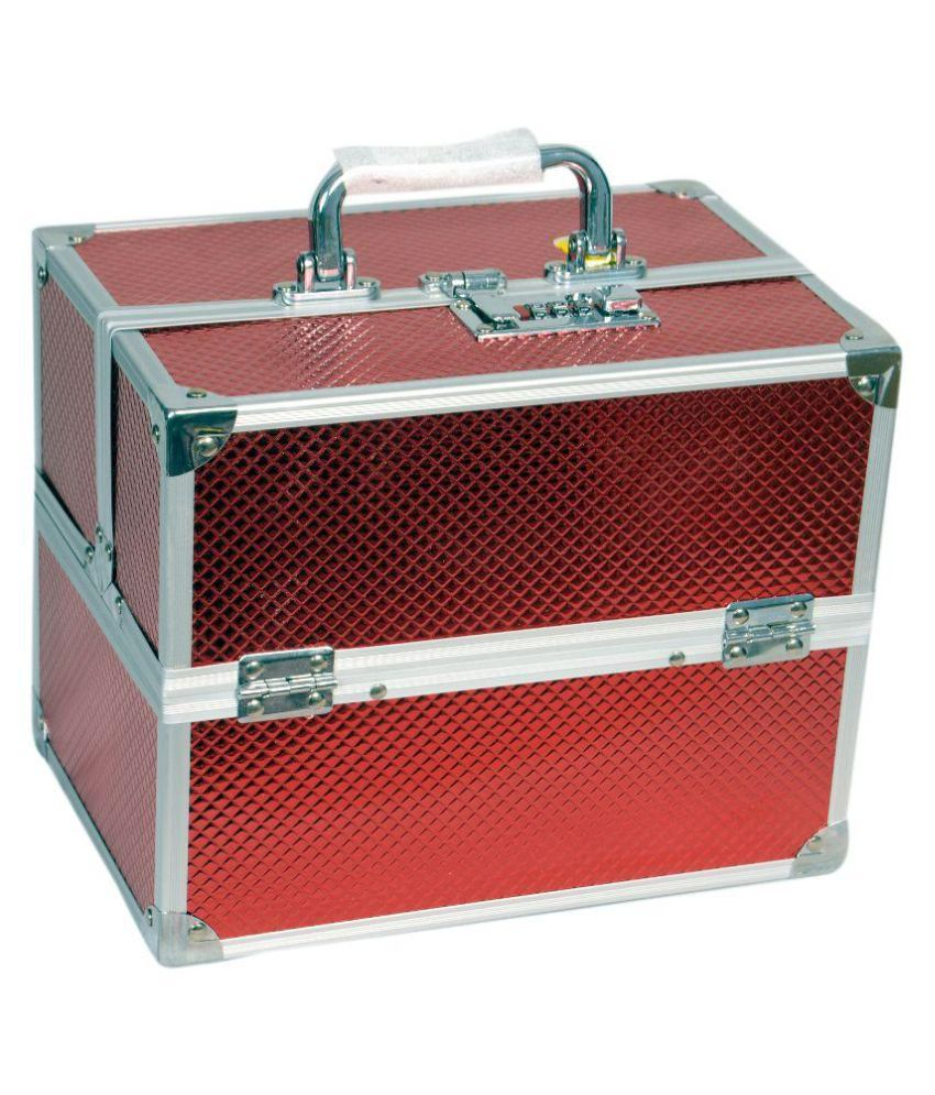 Bonanza Red Aluminum Jewellery Box