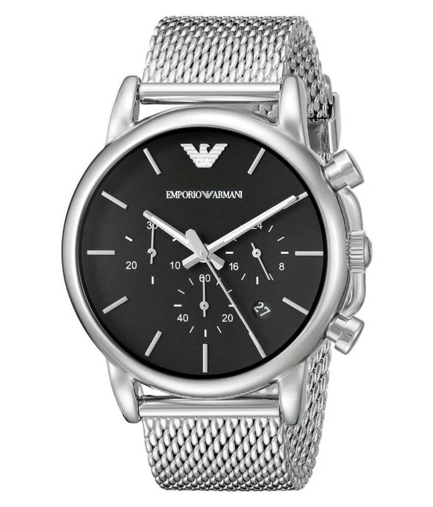c0d54c81b73 Emporio Armani AR1811 Silver Watch - Buy Emporio Armani AR1811 Silver Watch  Online at Best Prices in India on Snapdeal