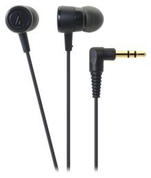 Audio Technica ATH-CKL220 BK In Ear Wired Earphones Without Mic Black