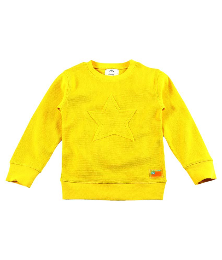 Cherry Crumble California Yellow Crew Neck