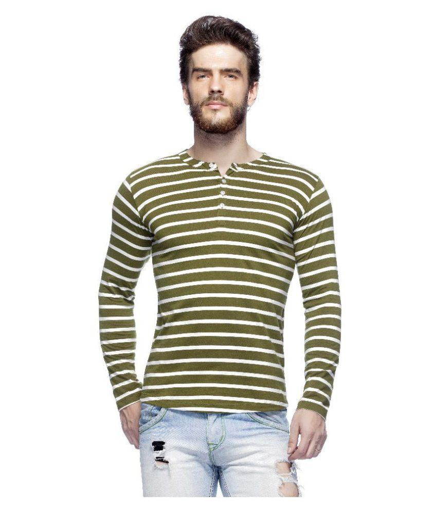 Tinted Multi Henley T-Shirt