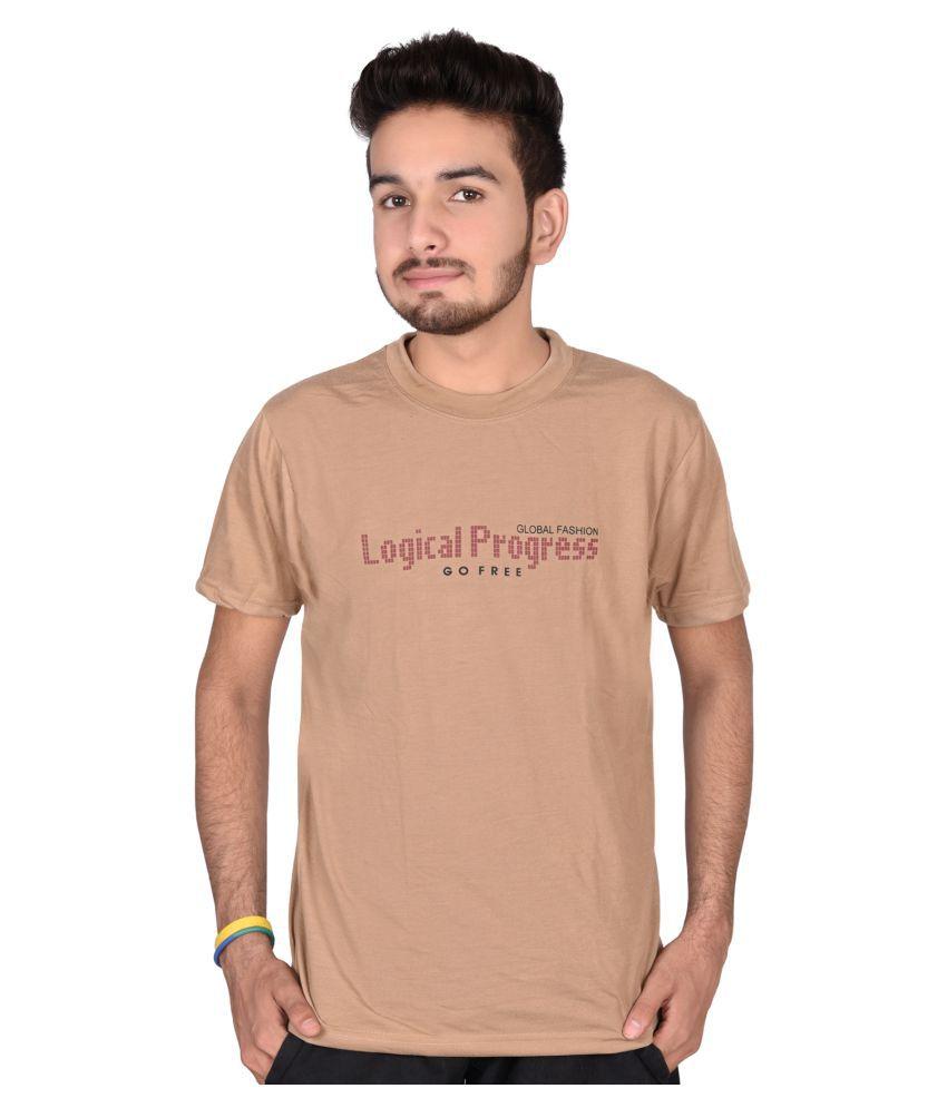 Decot Paradise Beige Round T-Shirt