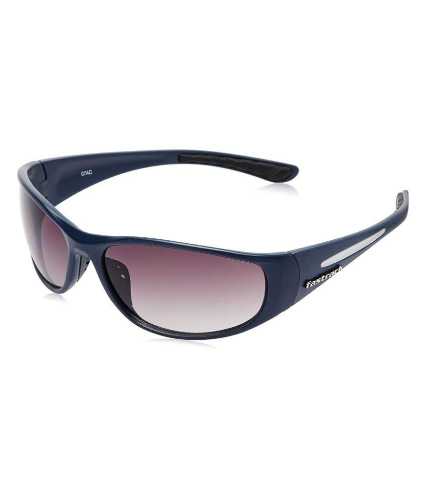 a71e62408d Fastrack Blue Wrap Around Sunglasses ( P120BK2 ) - Buy Fastrack Blue Wrap  Around Sunglasses ( P120BK2 ) Online at Low Price - Snapdeal
