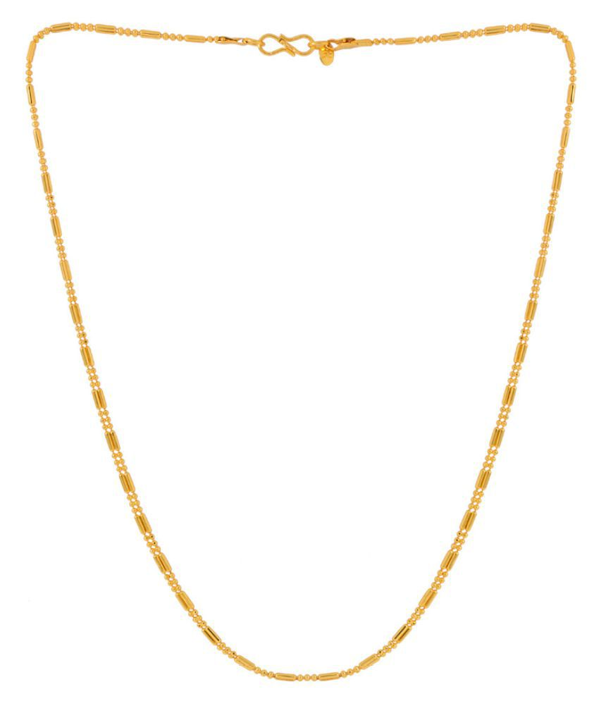 Voylla Golden Alloy Men's Chain