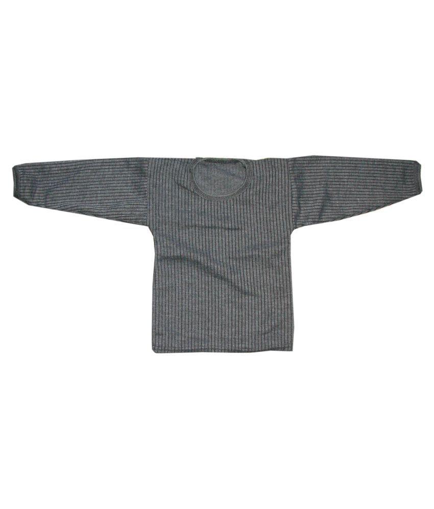 7173e476178 Kifayati Bazar Gray Cotton Thermal Set - Buy Kifayati Bazar Gray ...