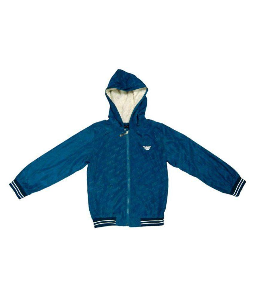 Giorgio Armani Blue Furr Jacket