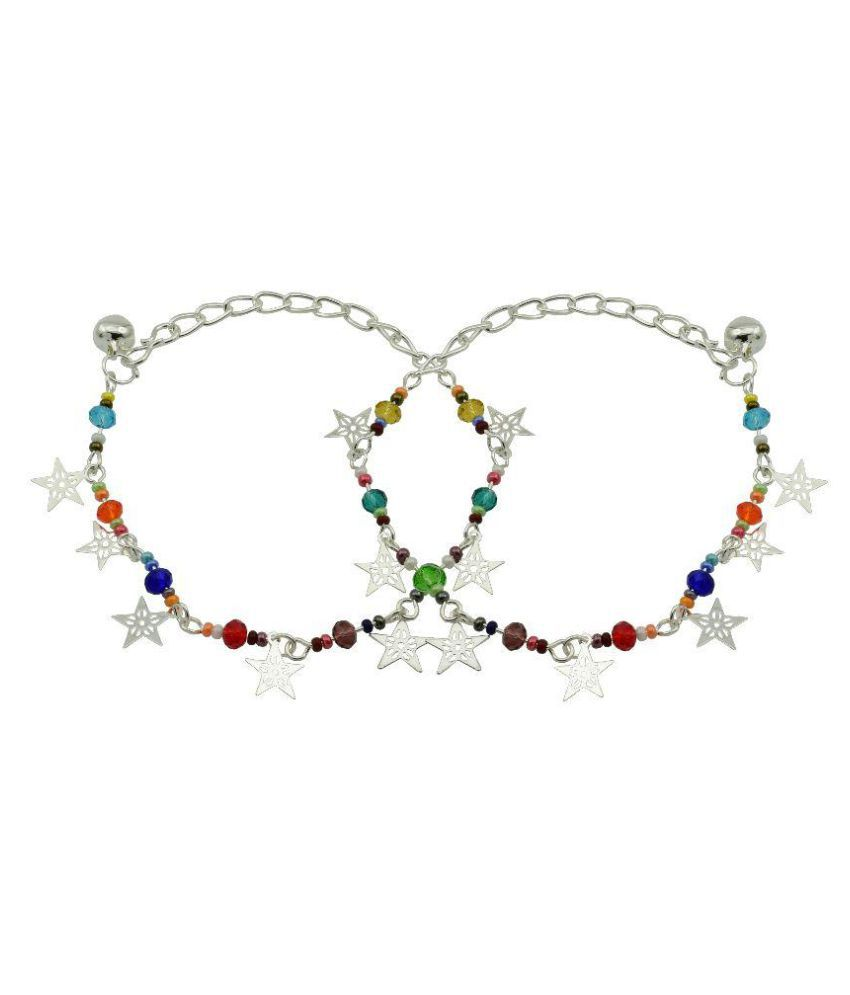 High Trendz Multicolor Anklet For Women And Girls