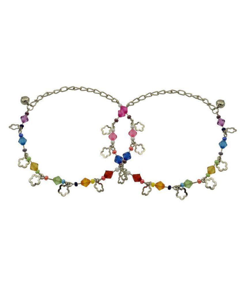 High Trendz Multicolor Anklet