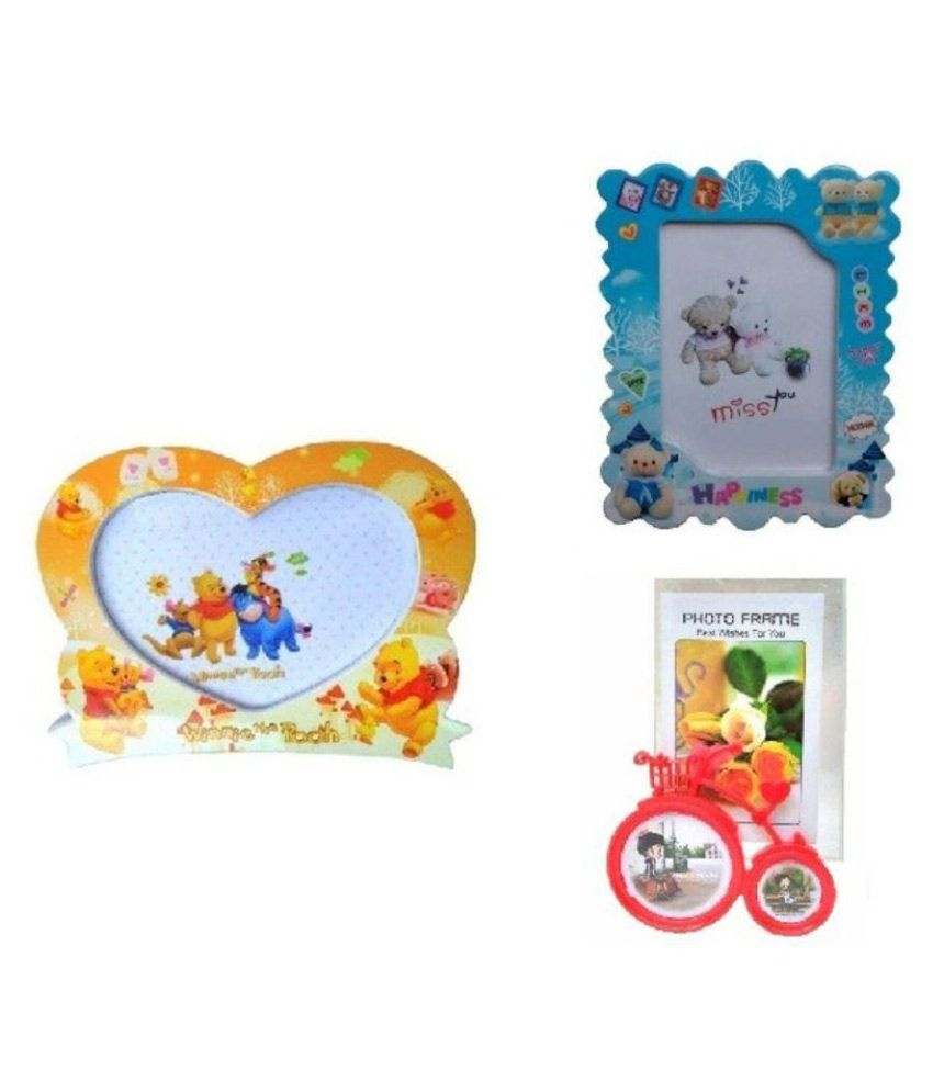 PleaseDaddy Combo of 3 Single Photo Frames (Birthday Return Gifts ...
