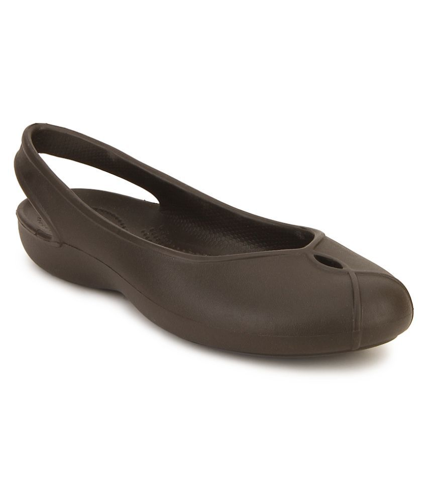 fe92d0723 Crocs Brown Ballerinas Relaxed Fit Price in India- Buy Crocs Brown Ballerinas  Relaxed Fit Online at Snapdeal