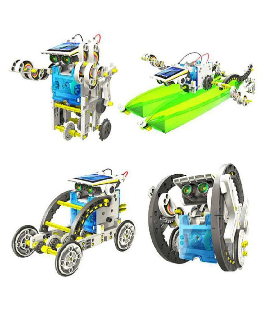 Unobite 14 in 1 Educational Solar Robot Kit - Buy Unobite ...