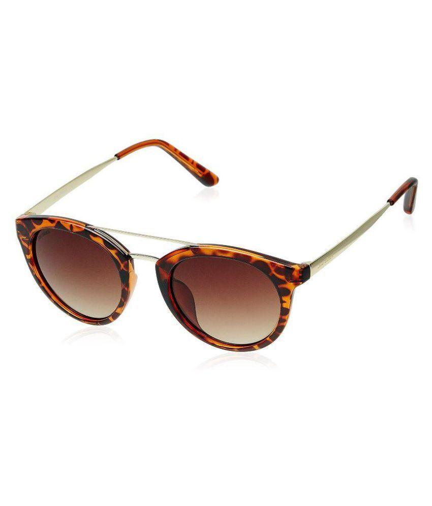 Joe Black Brown Oval Sunglasses ( JB-792-C3 )