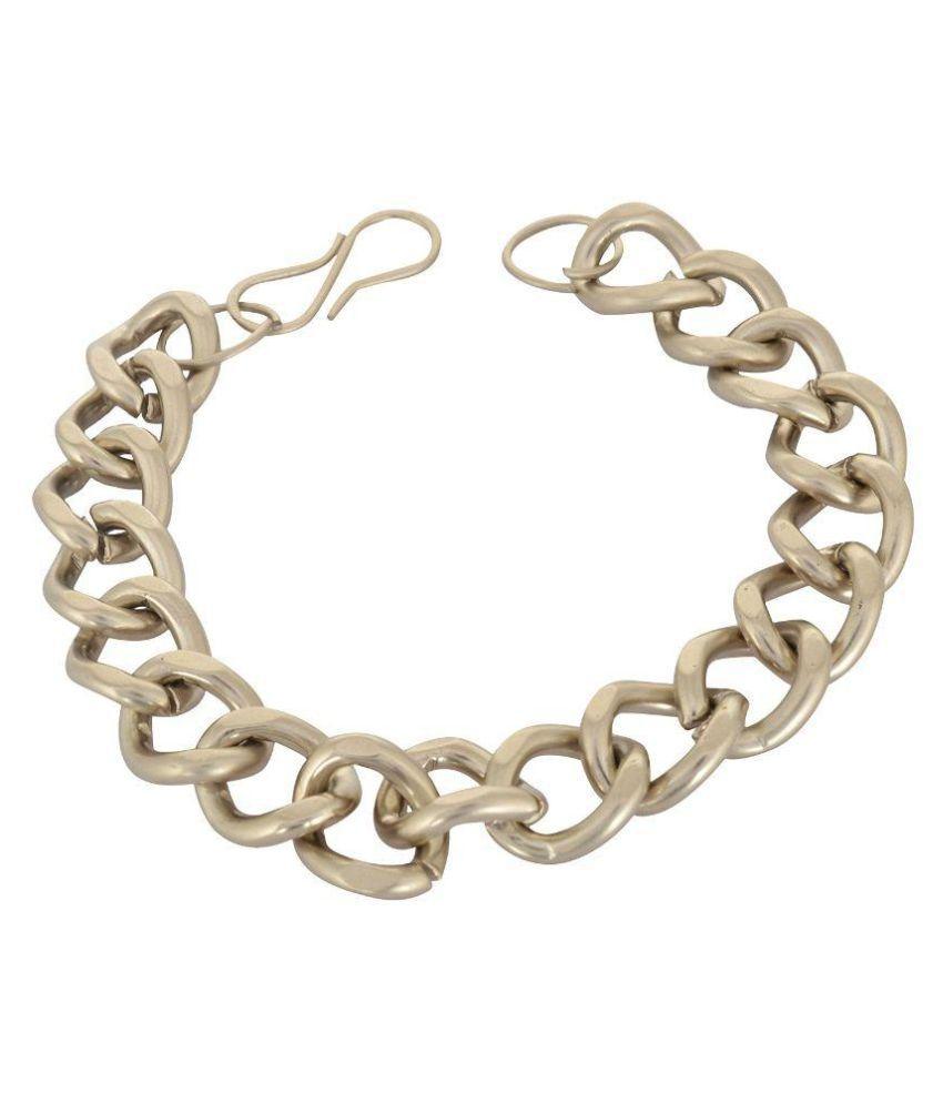 Geode Delight Golden Stainless Steel Bracelet