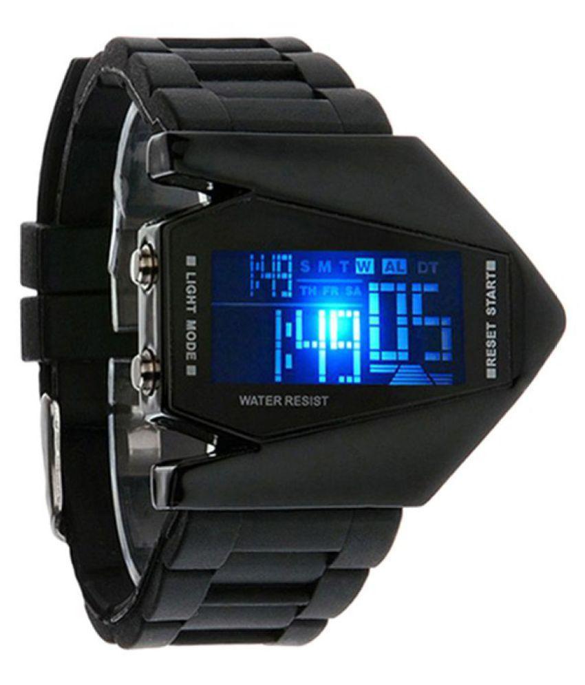 Oxhox Black Digital Watch