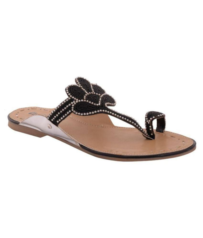Cocoon Black Slippers