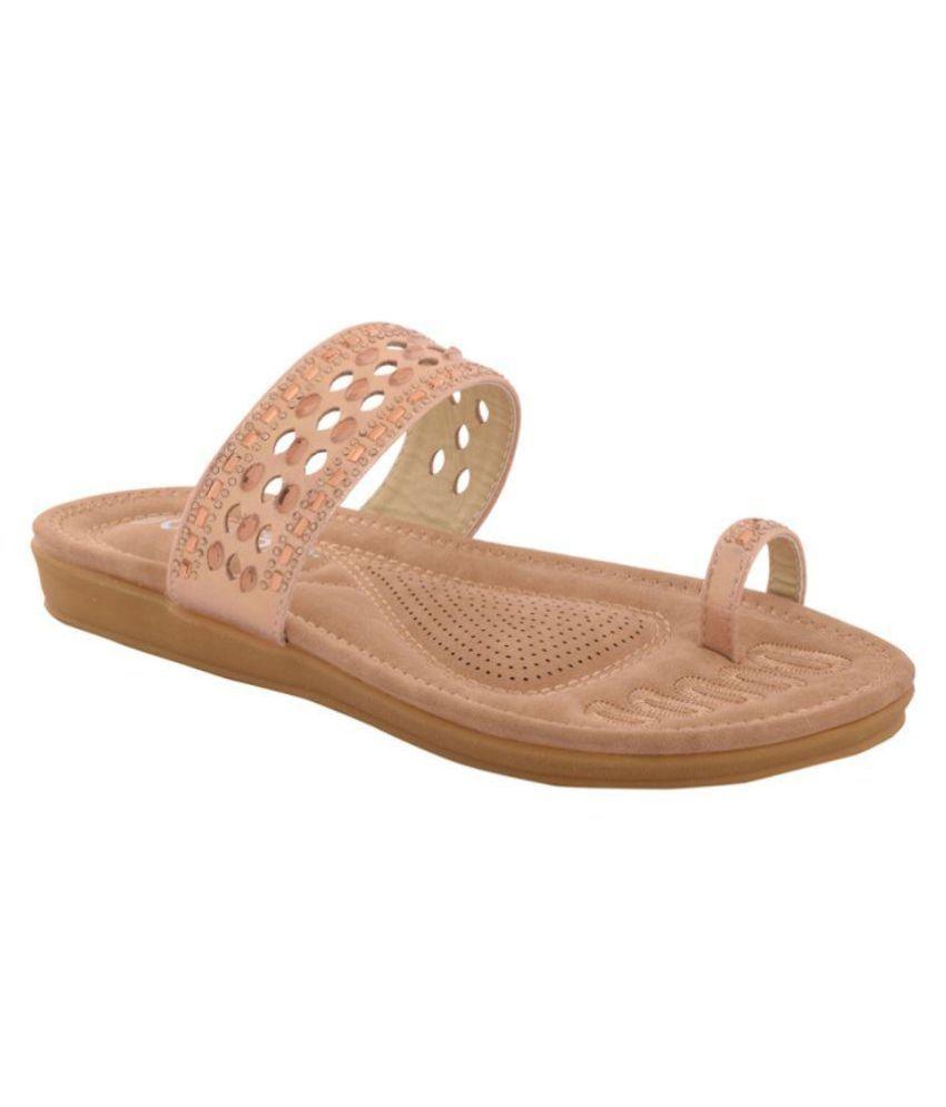 Cocoon Beige Slippers