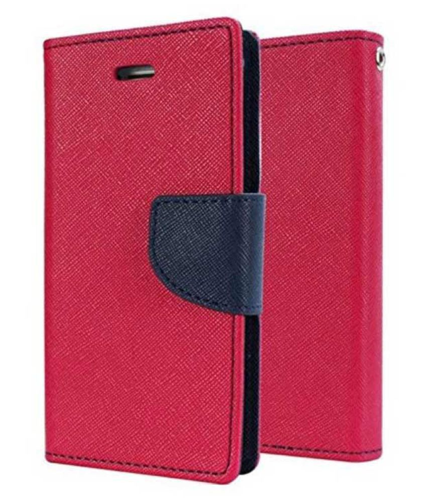 Asus Zenfone 5 Flip Cover by Kulasri Empire - Pink