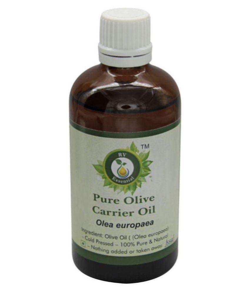 R V Essential Pure Olive Carrier Oil 100ml- Olea Europaea