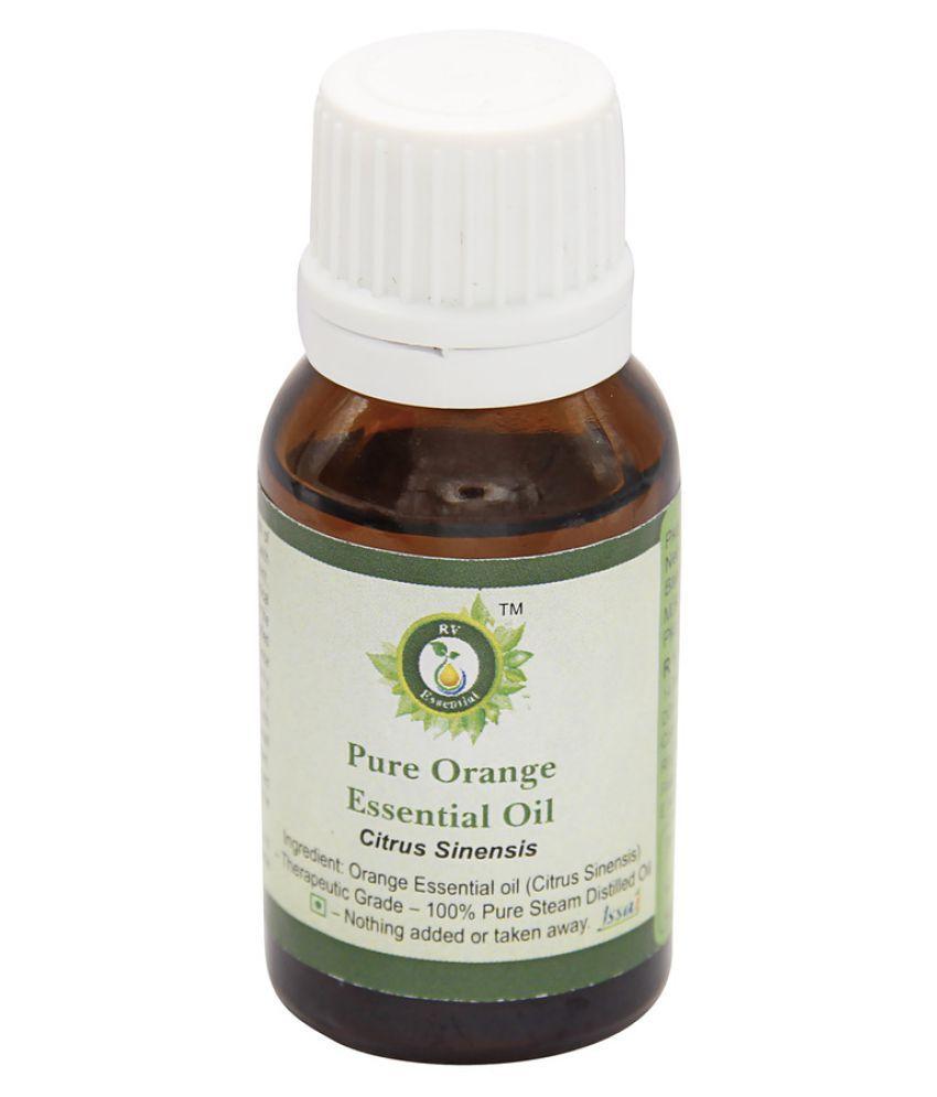 R V Essential Pure Orange Essential Oil 30 ml- Citrus Sinensis