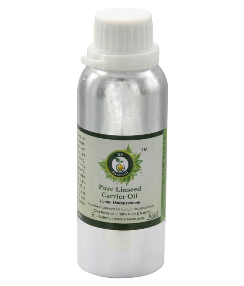 R V Essential Pure Linseed Carrier Oil 300ml- Linum Usitatissimum