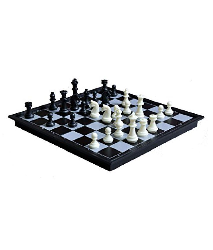 Quality Magnetic Travel Chess & Checkers Set