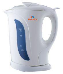 Bajaj Bajaj 1 Ltr - Cordless Kettle White 1 1200 Plastic Electric Kettle
