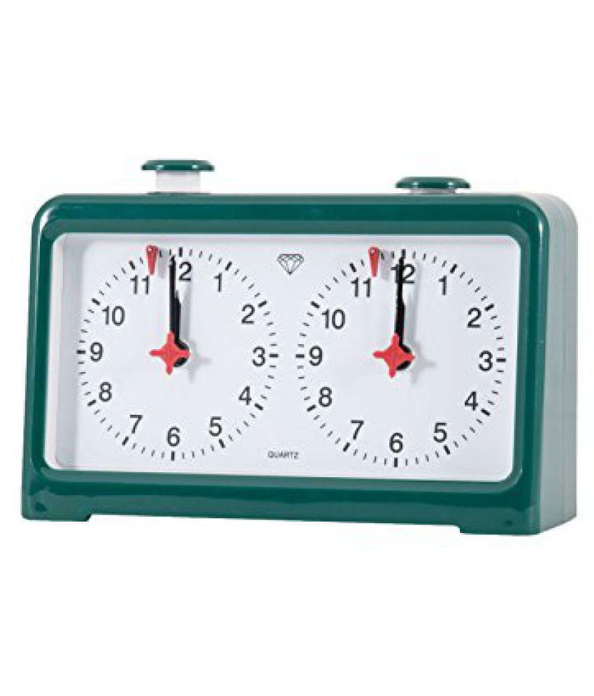 Diamond Quartz Chess Clock - Green
