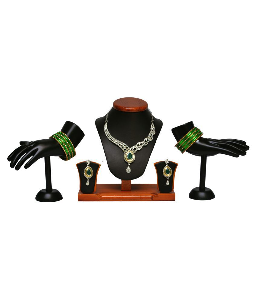 Royal Jewellers Multicolor Necklace Set