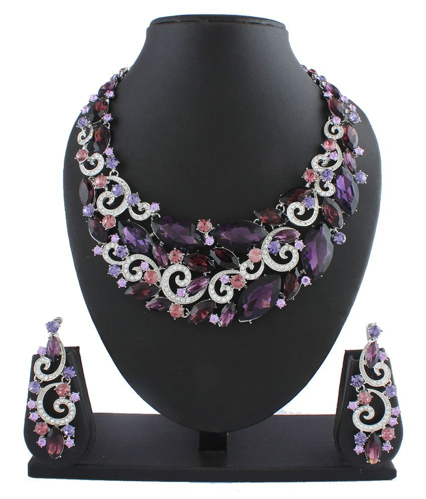 Anuradha Art Multicolour Necklace Set
