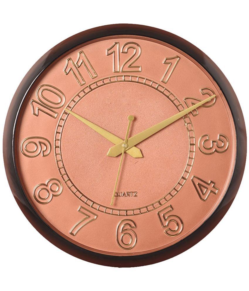EcraftIndia Circular Analog Wall Clock