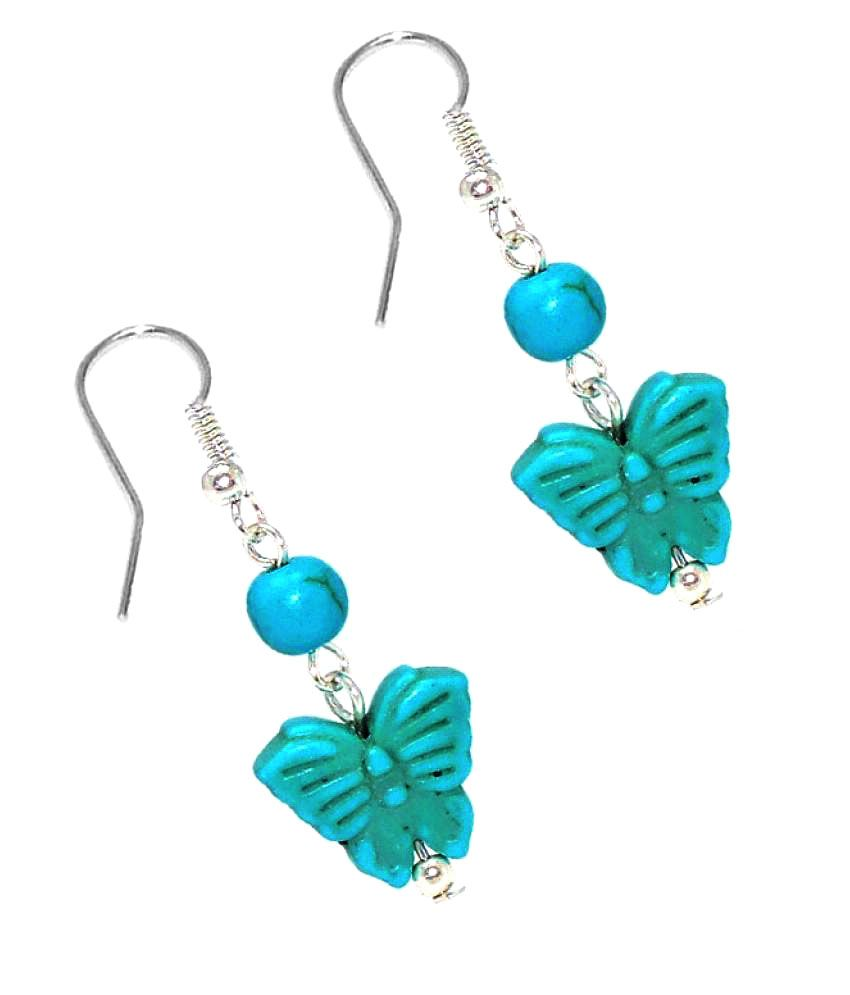Sanaa Creations Multicolour Hanging Earrings