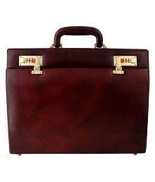 Zint Maroon M Briefcase