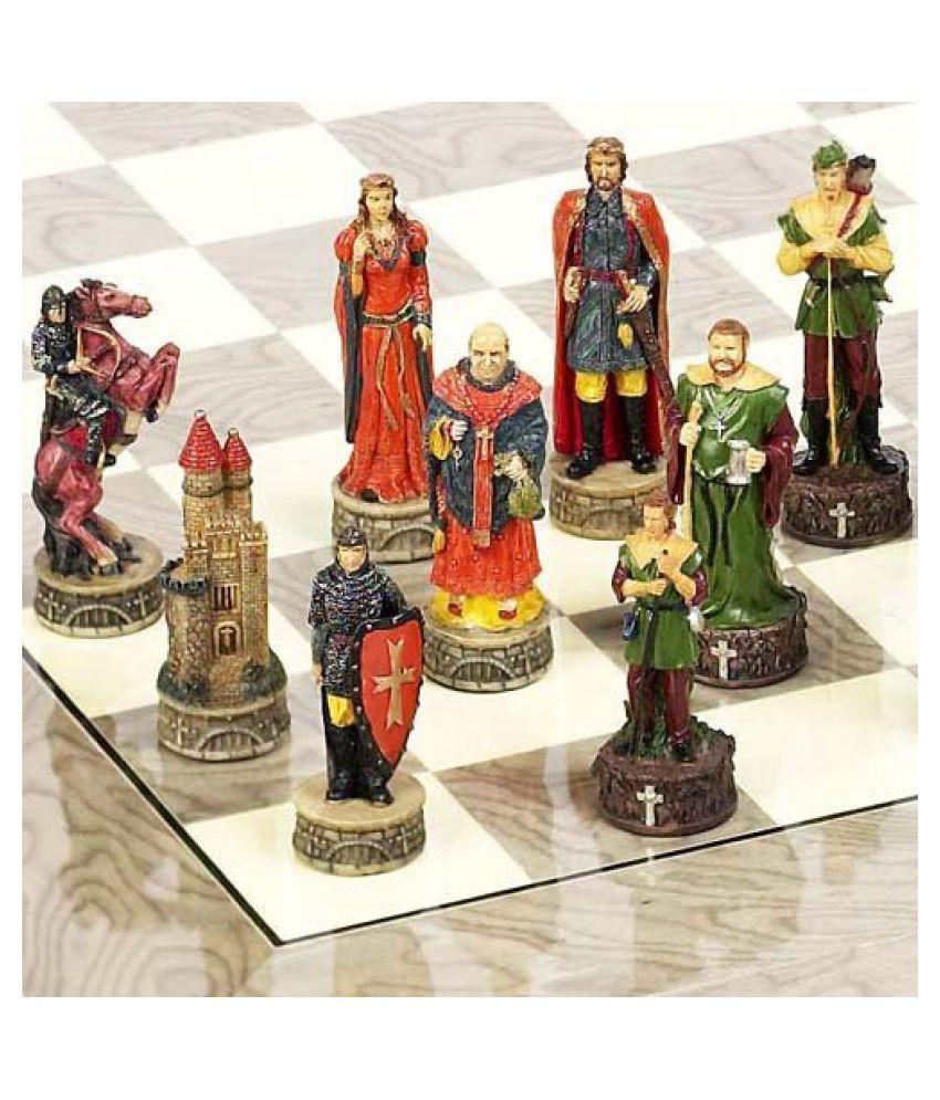 Robin Hood & the Sheriff of Nottingham Chessmen