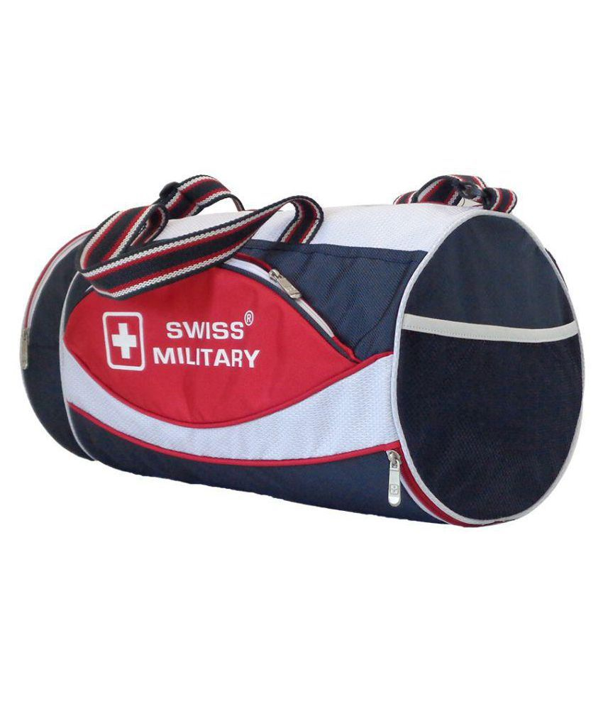 Swiss Military Multicolour Large Polyester Gym Bag