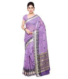 Varkala Silk Sarees Purple Chanderi Saree